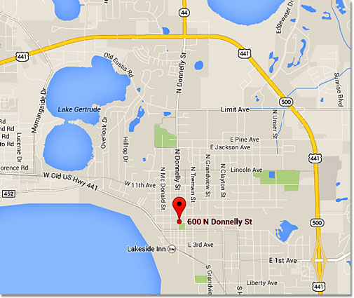 Lake Dora Florida Map.Directions And Driving Distances To And From Mount Dora Florida